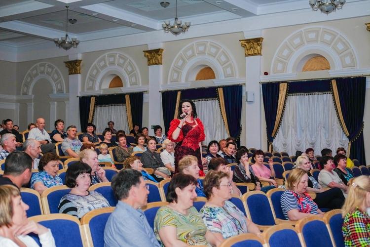 Сольный концерт Вероники Гришуленко в санатории Озеро Карачи